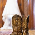 © Studio Delphianblue - MN Budget Bride - Brickhouse Getaway, Cowboy Boots Barn Wedding