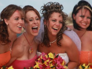 Closeup of Bridesmaids Thumbnail